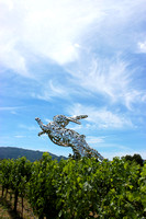 Bunny Sculpture 5, Hall Winery