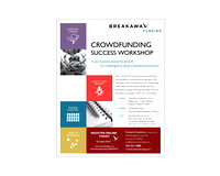 BREAKAWAY FUNDING WORKSHOP BROCHURE
