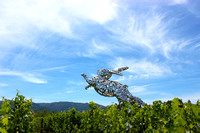 Bunny Sculpture 4, Hall Winery