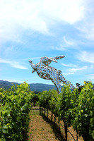 Bunny Sculpture 3, Hall Winery