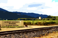 Robert Mondavi Sign (art)