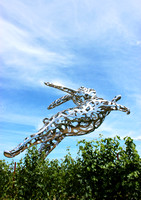Bunny Sculpture 1, Hall Winery