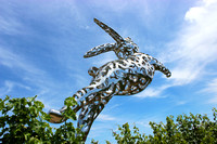 Bunny Sculpture 2, Hall Winery