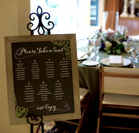 Lindsay & Richard Dining Seating Sign